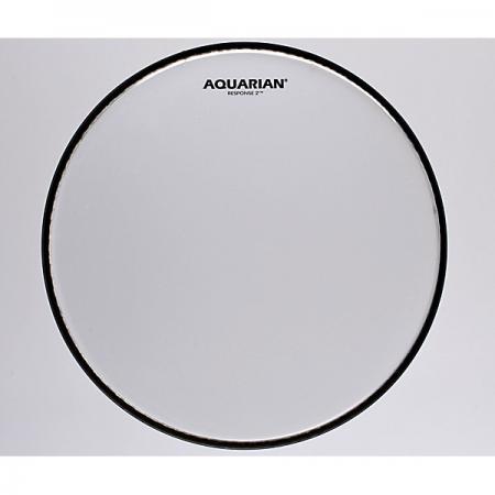 """AQUARIAN 24"""" Response 2 clear Bass drum Fell"""