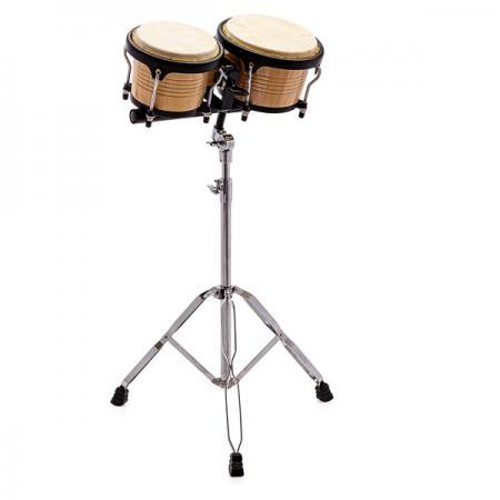 Bongoset S-Drums mit stabilen Bongoständer