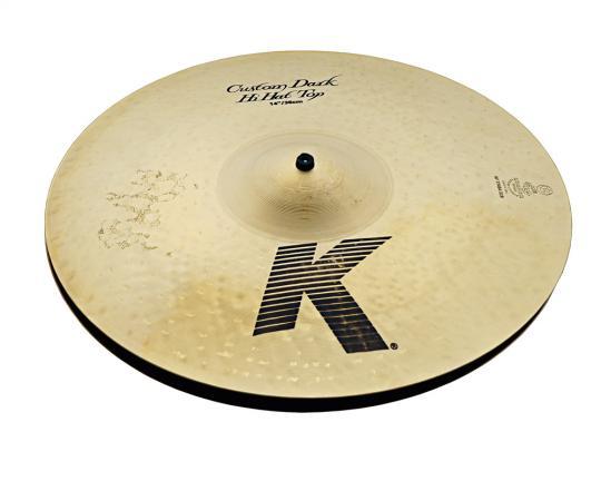 """Zildjian K-Custom 14"""" Dark HiHat"""