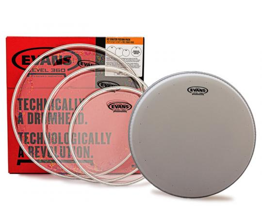 """Evans G2 Clear Set 10 / 12 / 14 mit 14"""" HDD Snarefell"""