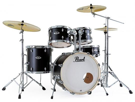 Pearl Export EXX705NBR in Satin Shadow Black