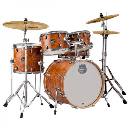 Mapex Storm Drumset Farbe: IC - mit Hocker und Zildjian ZBT Beckenset